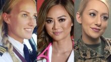 Badass women breaking through the glass ceiling in male-dominated industries