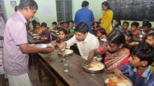 Alapuzzha collector shares mid-day meal with children during surprise visit to school