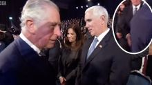 Royal snub: Prince Charles avoids Mike Pence in cringe-worthy video