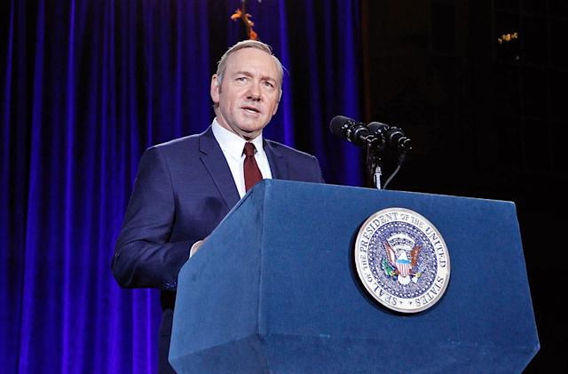 Netflix cancels 'House of Cards' after six-season run