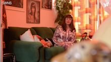 Mum turns her home into 1970s shrine by only buying second-hand interiors