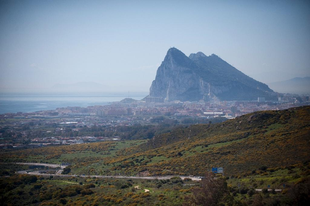 Gibraltar is the unofficial capital of the online gaming industry, but there are concerns Brexit could change that (AFP Photo/JORGE GUERRERO)