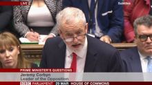 Corbyn: Northern Ireland should have a reunification referendum if the Assembly wants one