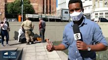 Repórter da Globo socorre agente da prefeitura eletrocutado durante jornal