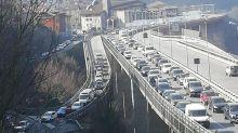 Traffico e ingorghi in provincia di Bergamo