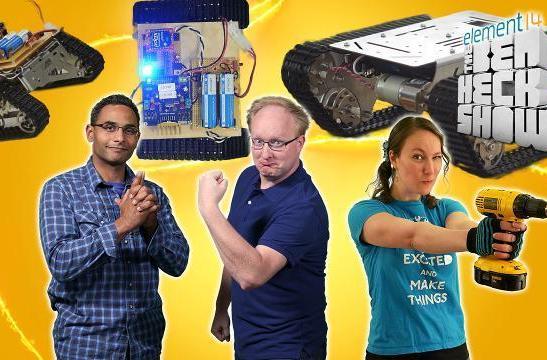 Ben Heck's Hackbot Wars, part 2: Weapons