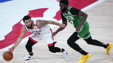 In potential playoff preview, Celtics send message with thumping of Raptors