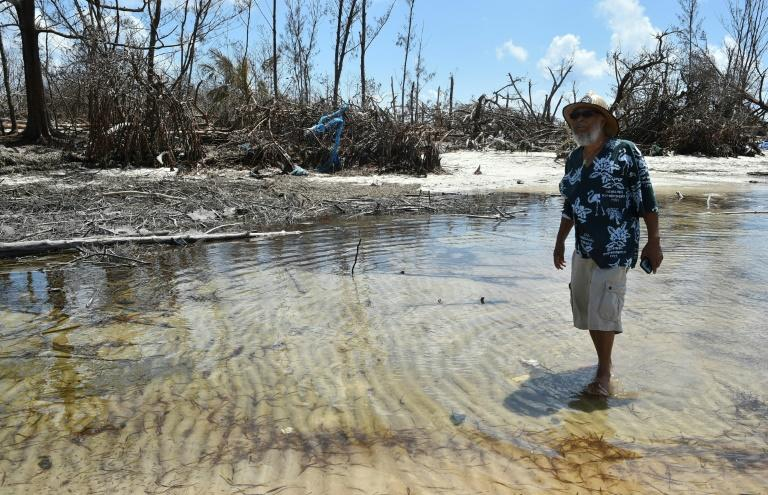 Environmental activist Joseph Darville said he has fought for years against the oil terminal, located along a coast that is dependent on tourism and fishing and whose water table is only a meter (yard) deep (AFP Photo/Leila MACOR)