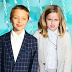 Everything We Know About Angelina Jolie's Twins, Knox & Vivienne Jolie-Pitt