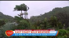 Wild weather hits east coast