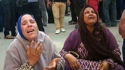 Raw: Families React As 683 Sentenced to Death
