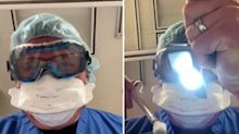 'Frightened eyes': Doctor shares video of what dying Covid patients see in final moments