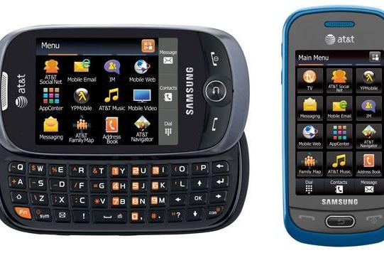 Samsung Flight II and Eternity II official for AT&T