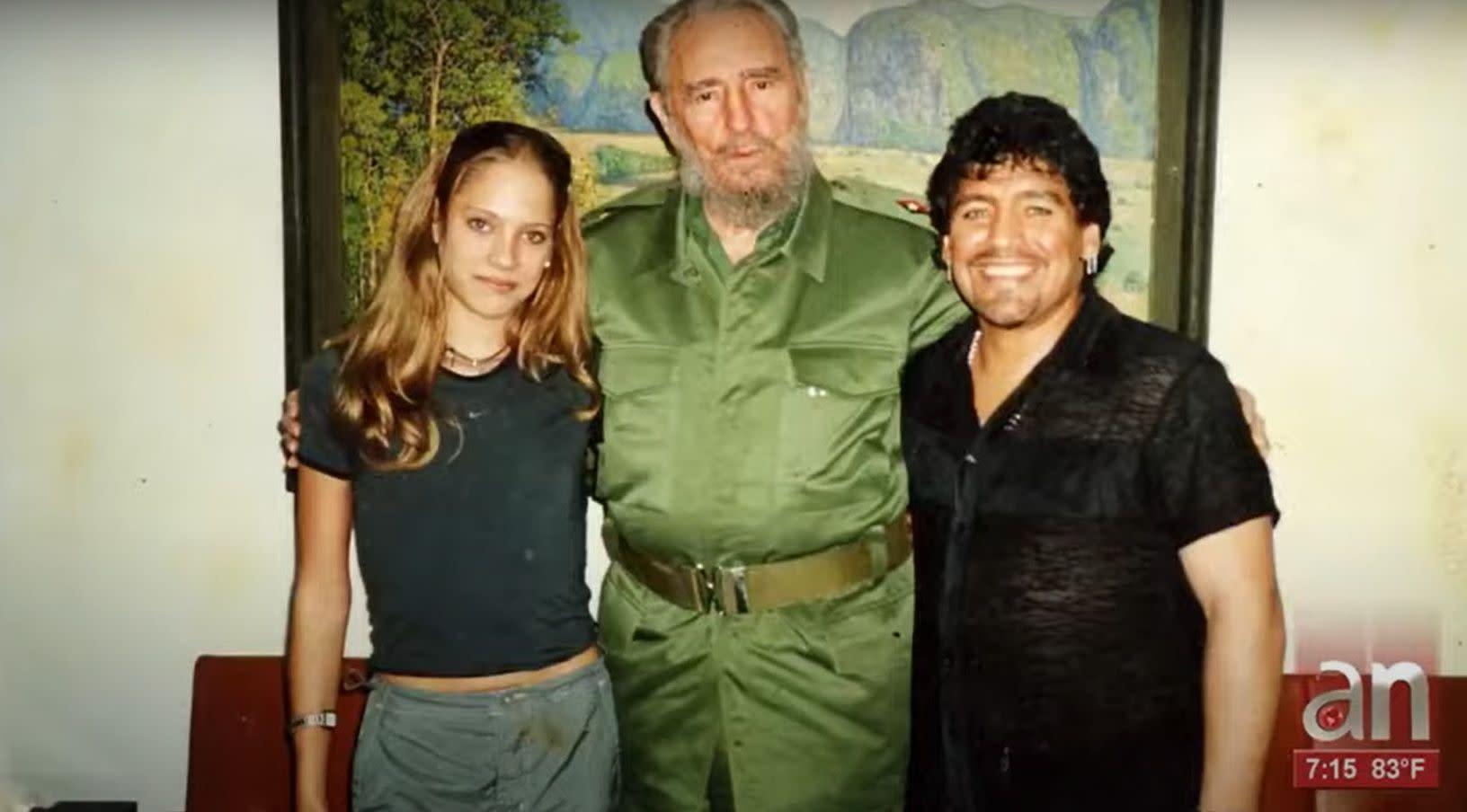 Mavys Álvarez, la novia menor de edad de Diego Maradona, reveló los dos favores que el Diez le pidió a Fidel Castro