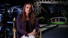 Watch Mila Kunis Plummet From a Wire for 'Jupiter Ascending' (Exclusive)