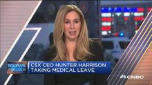 CSX CEO Hunter Harrison taking medical leave