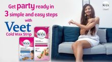 VEET Cold Wax Strips : How to Use Veet Cold Wax Strip Step by Step