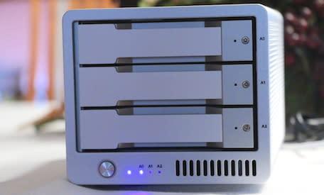 CalDigit T3: Lightning-fast Thunderbolt RAID