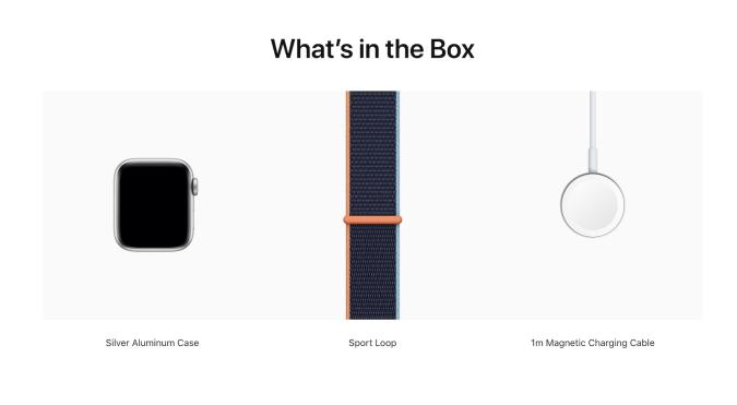 Apple Watch what's in the box