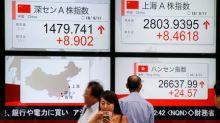 Índices da China devolvem perdas e fecham em alta com impulso de ações de tecnologia