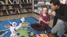 Meet the interactive robot making a mark on Quebec's classrooms