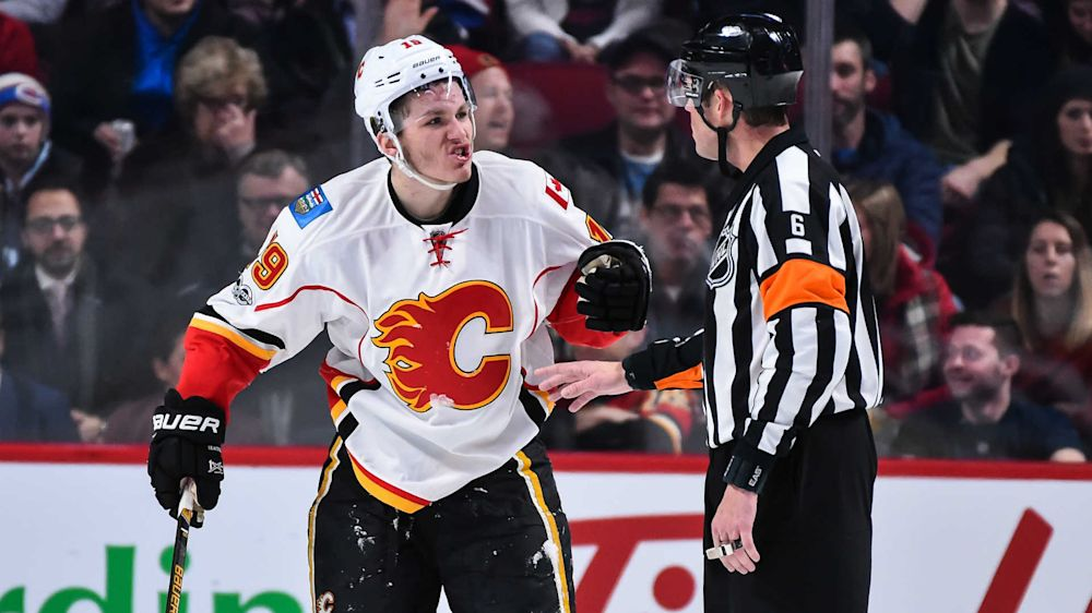 Kings' Drew Doughty calls Flames' Matthew Tkachuk 'pretty dirty player' after elbow to chin