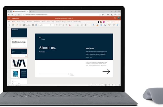 Microsoft drops the 'Online' name from its Office web apps