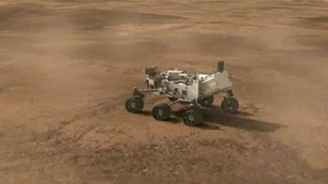 Preview of Mars 'Curiosity' rover landing