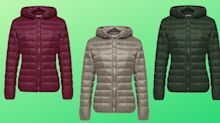 This best-selling down jacket weighs in at less than a pound for ultimate portability