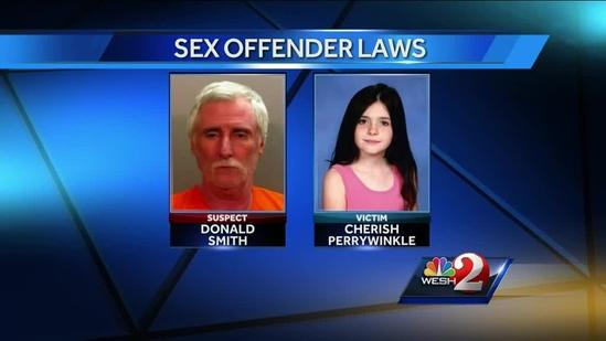 Florida lawmakers consider tougher laws for sex offenders