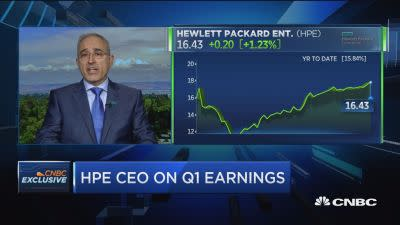 HPE CEO: Edge computing to be bigger than cloud computing