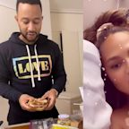 John Legend made Chrissy Teigen his signature 'nightstand sandwich' right by her hospital bed