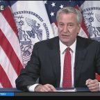 Mayor Bill de Blasio Gives Daily Briefing
