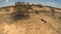 Mile-Long Crack Opens in Ground in Rural Mexico
