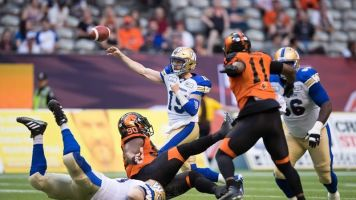 Nichols, Bombers looking to rebound from disappointing loss versus Argos