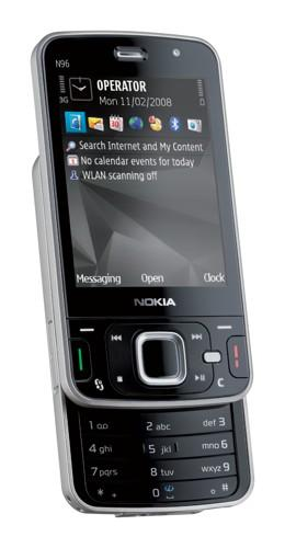 """The Nokia N96 redefines """"high-end"""""""