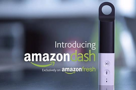 Amazon's Dash lets you refill your pantry using your voice and LEDs (updated)