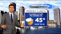 WBZ AccuWeather Afternoon Forecast For March 30