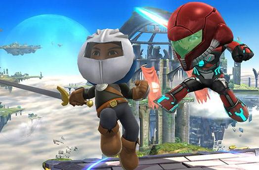 Dress your Mii as Nintendo characters in Super Smash Bros.