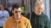 Sophie Turner and Joe Jonas Took a Walk With Baby Willa