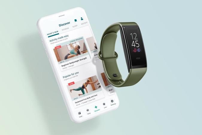 Amazon Halo Fitness and Halo View activity tracker