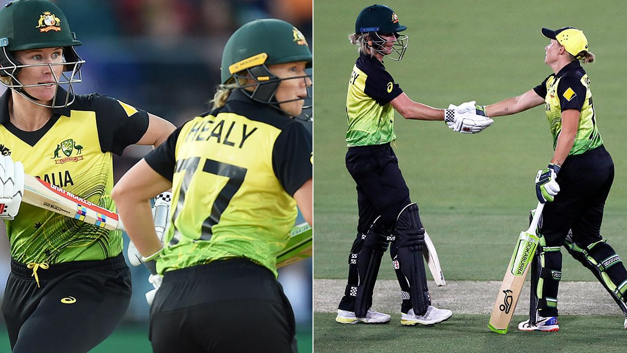 Aussie women break T20 record in 15-year cricket first