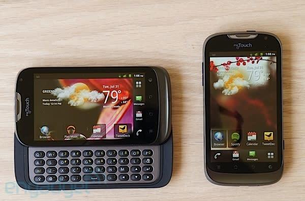 T-Mobile myTouch and myTouch Q review: two budget-friendly phones, one aging OS