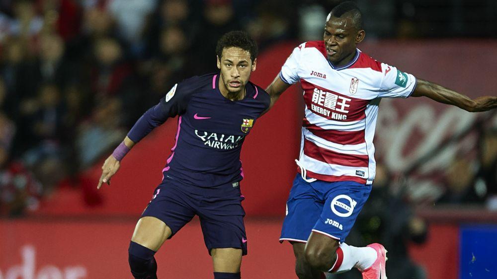 Neymar dedicates 100th Barcelona goal to team-mates