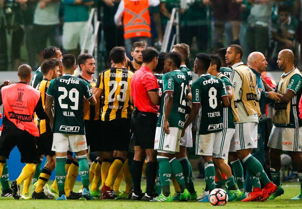 """Copa Libertadores 2017: los jugadores """"más sucios"""""""