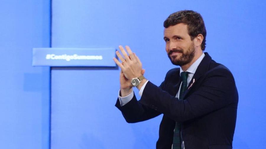 Casado irá mañana a Barcelona para dar su apoyo a las fuerzas de seguridad