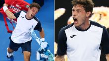 Tennis star throws extraordinary tantrum after controversial loss