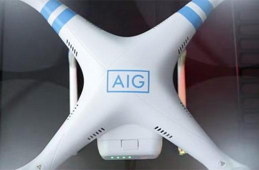 FAA allows AIG to use drones for insurance inspections