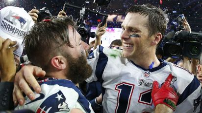 Brady salutes Edelman: 'You always came through'