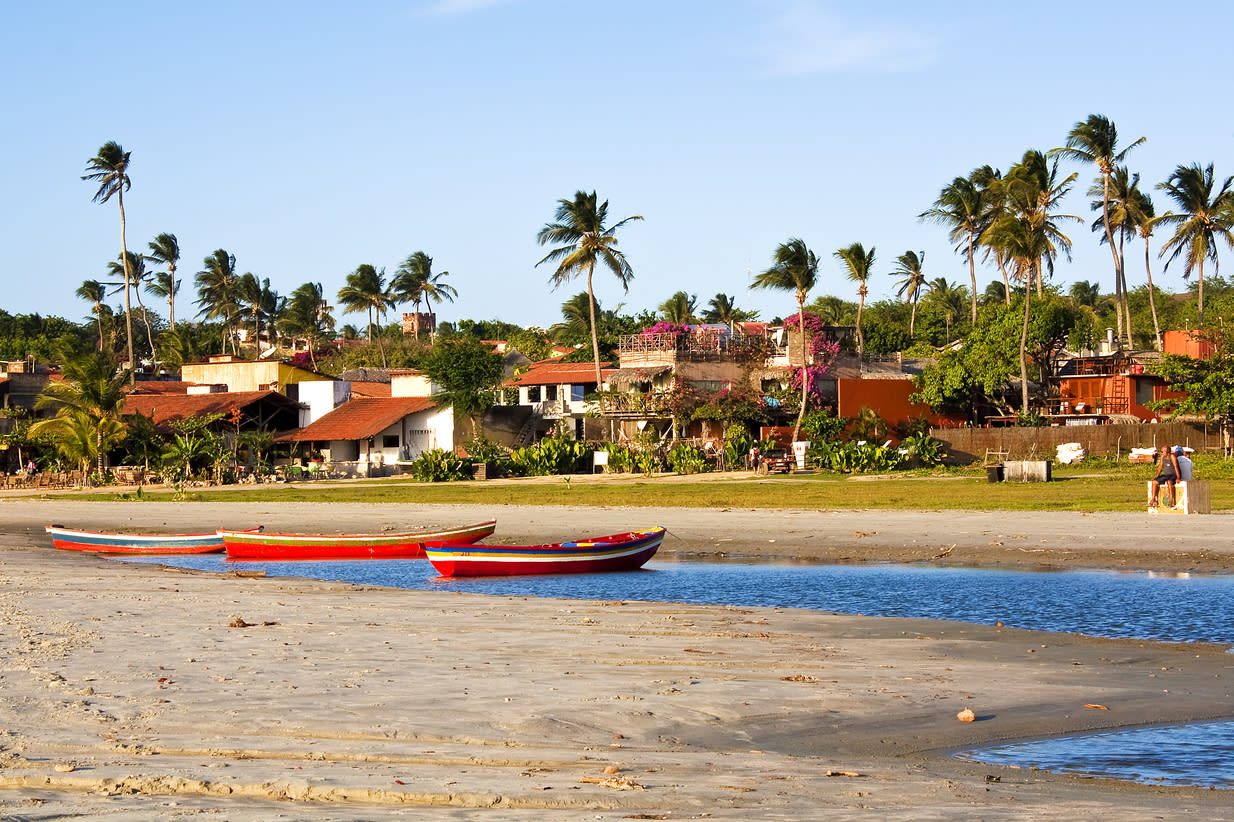 """<p>Head to the fishing town of Jericoacoara and expect beautiful coastline, stunning beaches and plenty of activities. The area has been a designated national park since 2002 and is still relatively 'off the beaten track'.</p>  <p>TripAdvisor recommend a trip to<a href=""""https://www.tripadvisor.com/Attraction_Review-g303297-d2391300-Reviews-Duna_do_Por_do_Sol-Jericoacoara_Jijoca_de_Jericoacoara_State_of_Ceara.html"""" target=""""_blank"""">Duna do Por do Sol</a>.</p>"""